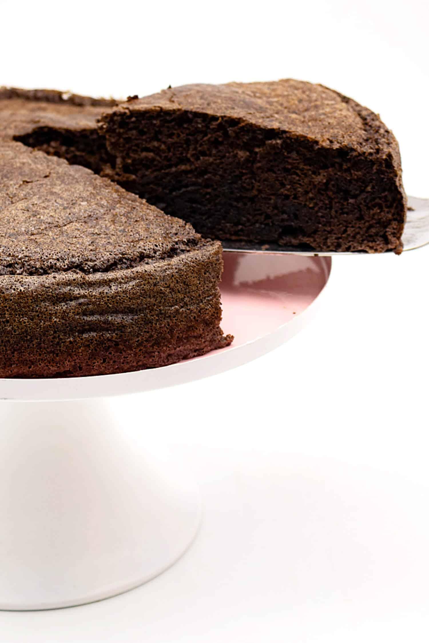 Low Carb Schokokuchen ohne Mehl und ohne Zucker