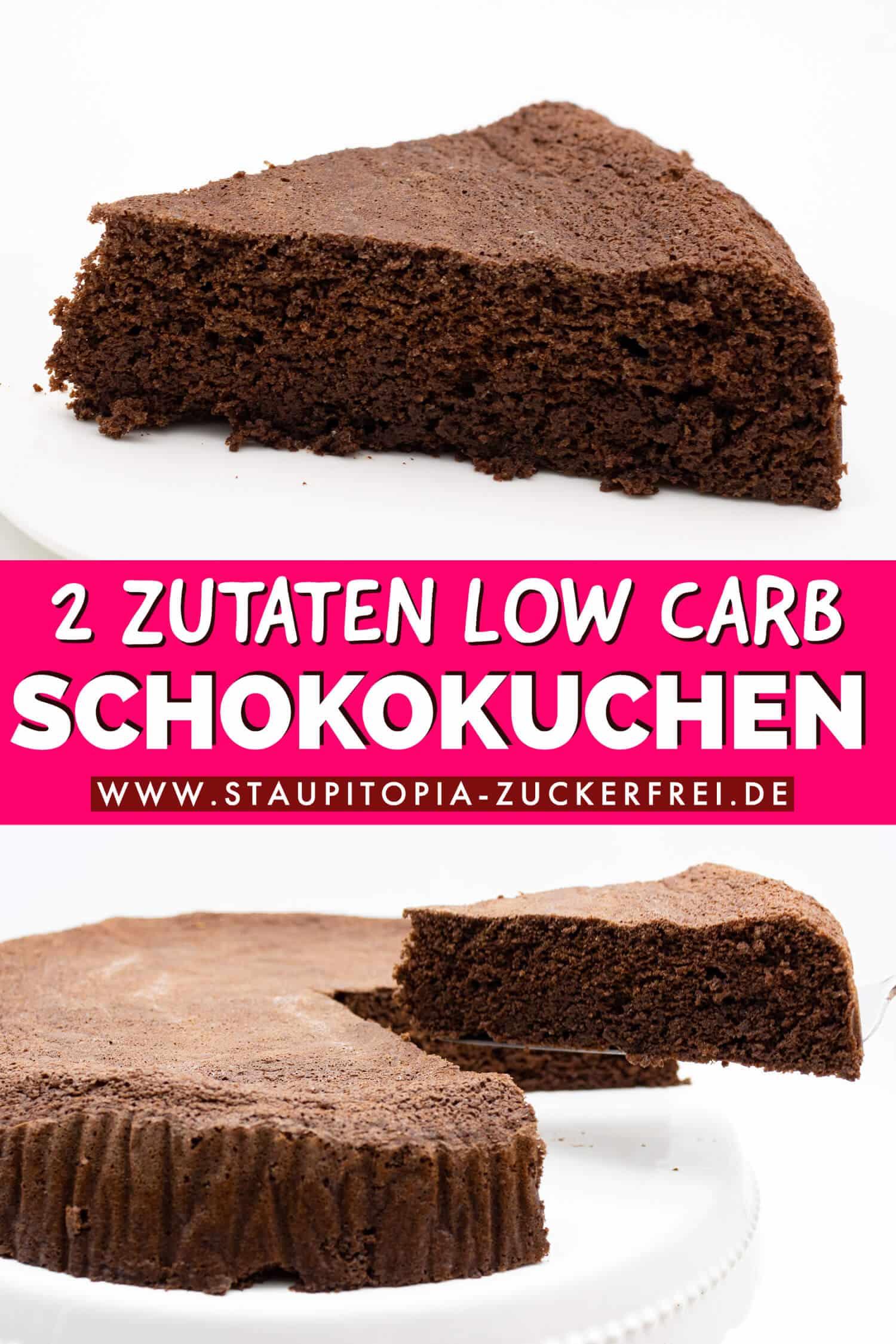 Low Carb Schokokuchen ohne Mehl