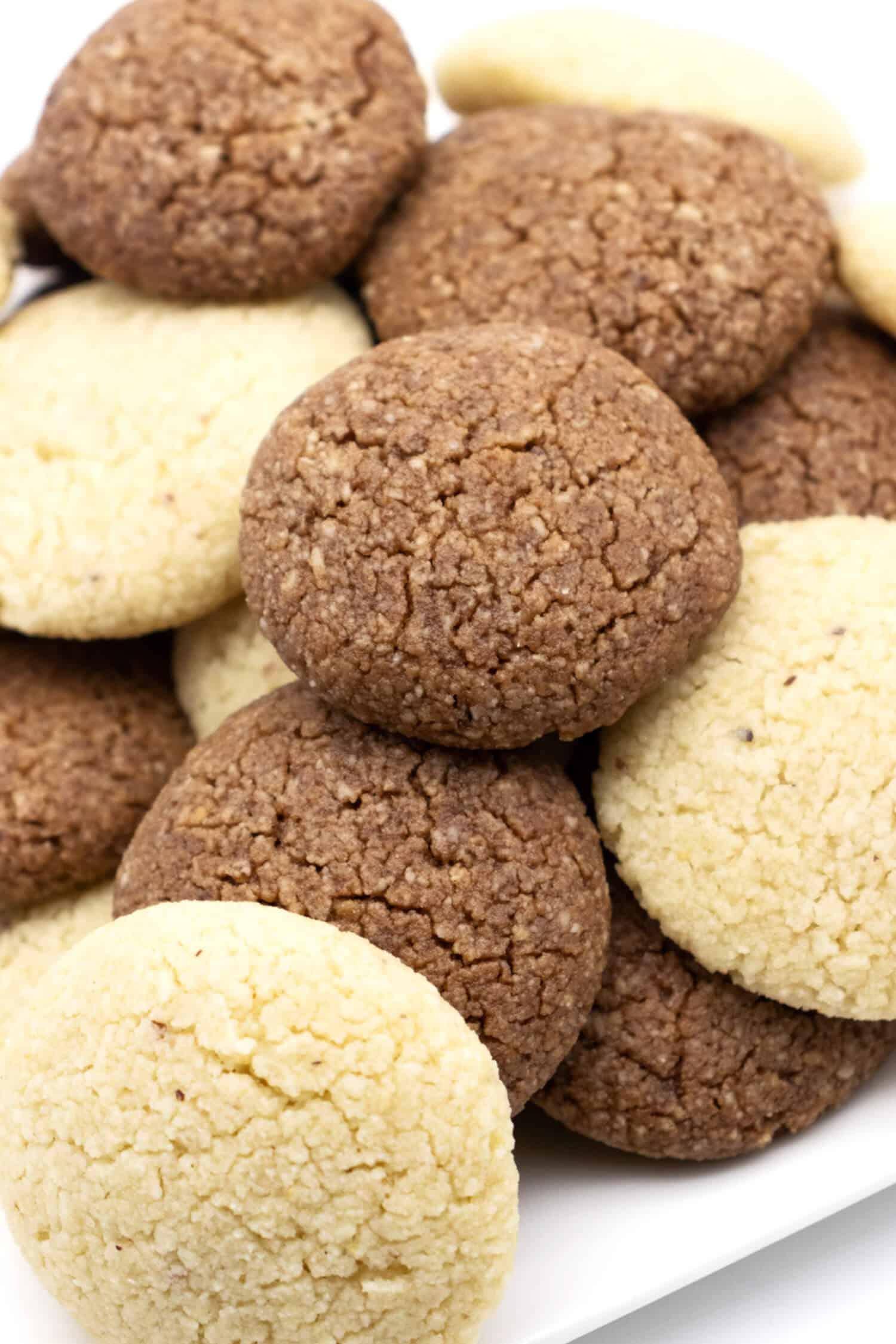 Mandelkekse ohne Zucker und ohne Mehl - Low Carb Rezept