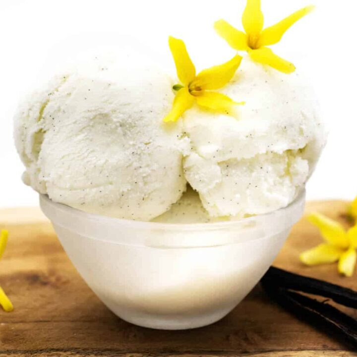 Vanilleeis ohne Ei Rezept