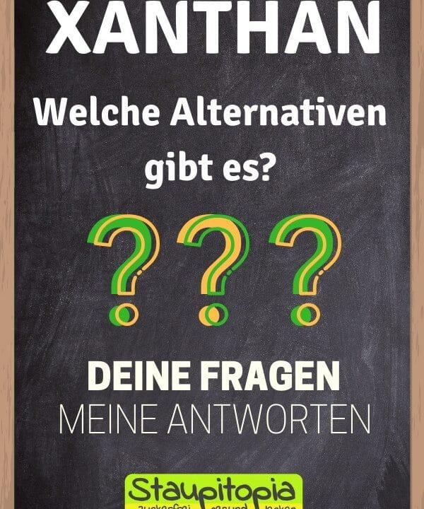 Xanthan Alternativen und Ersatz