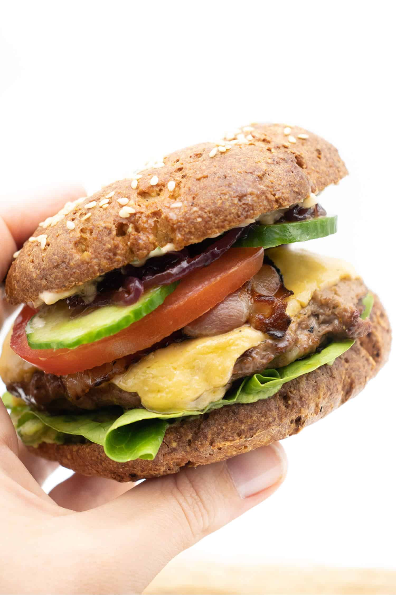 Burger Low Carb und ohne Kohlenhydrate
