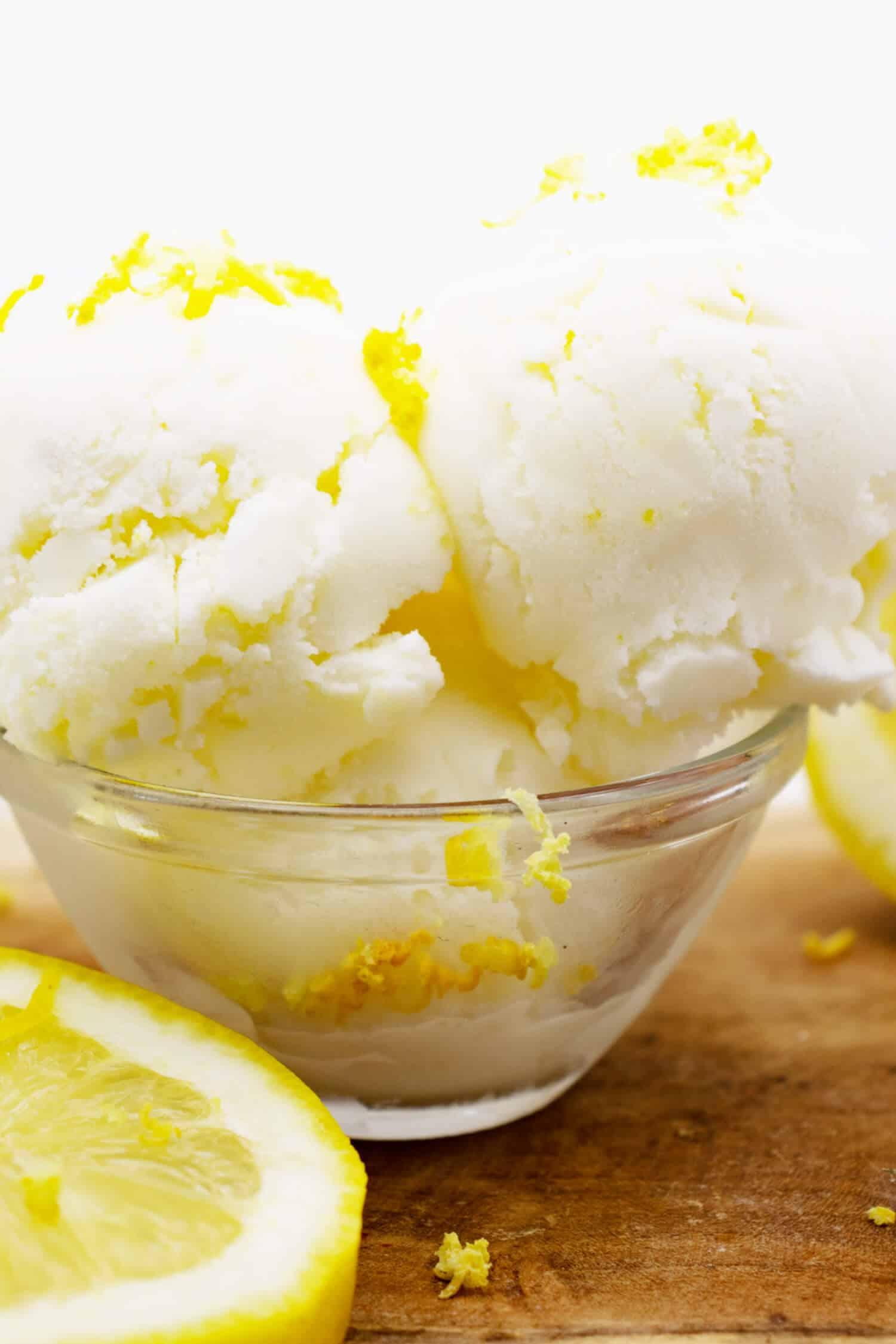 Buttermilch Zitrone Eis Rezept