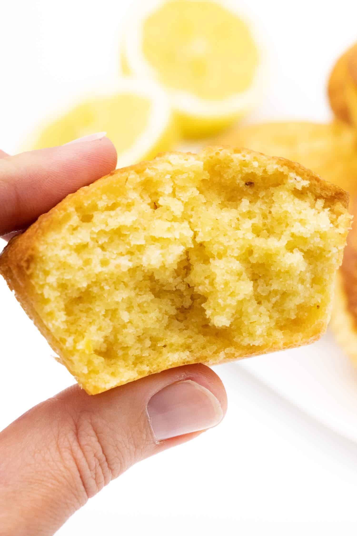 Gesunde Zitronen Muffins ohne Zucker backen