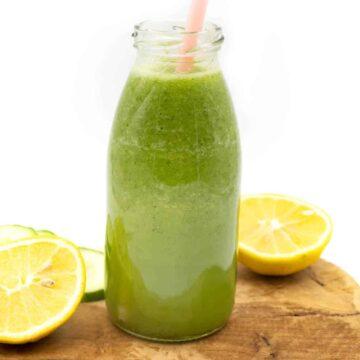 Gurkenwasser trinken gesund Rezept