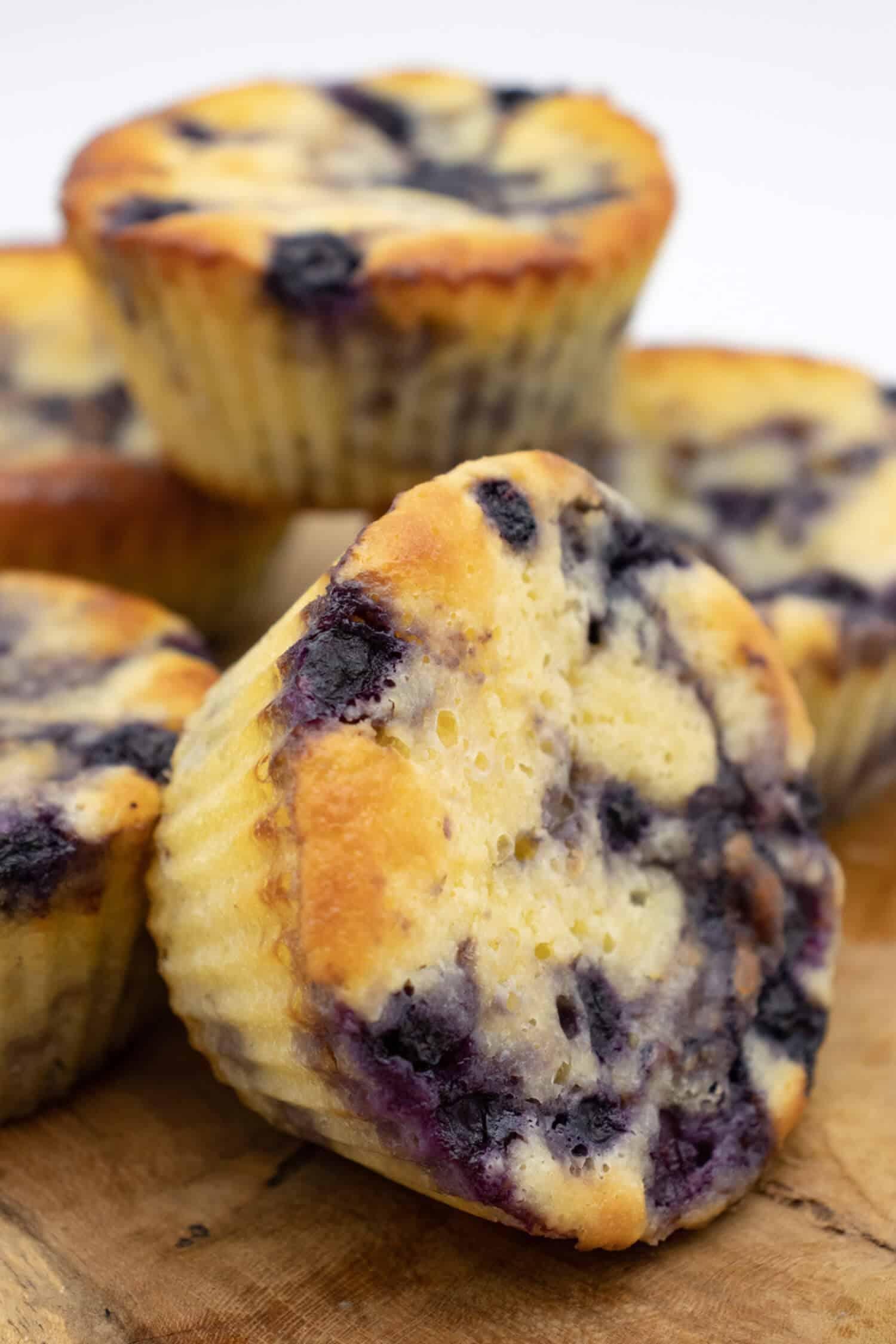 Low Carb Blaubeer Muffins Rezept