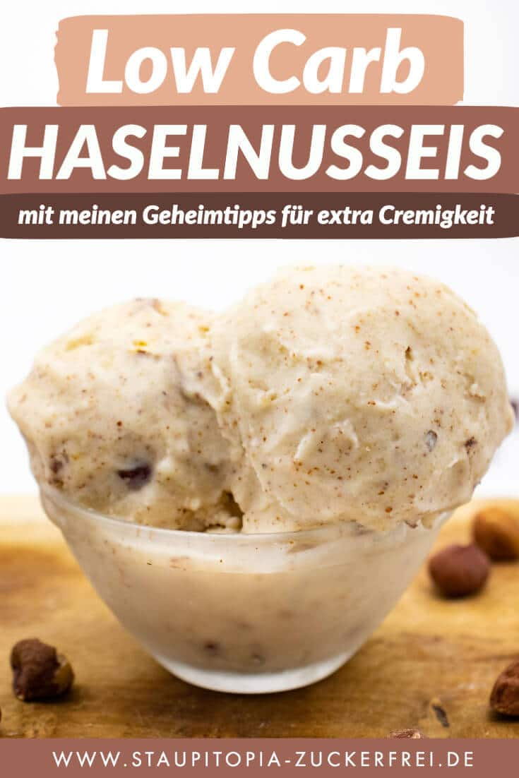 Low Carb Haselnusseis Rezept