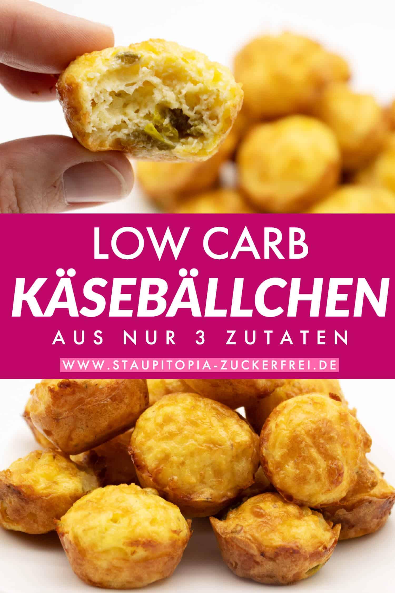 Low Carb Käsebällchen - pic