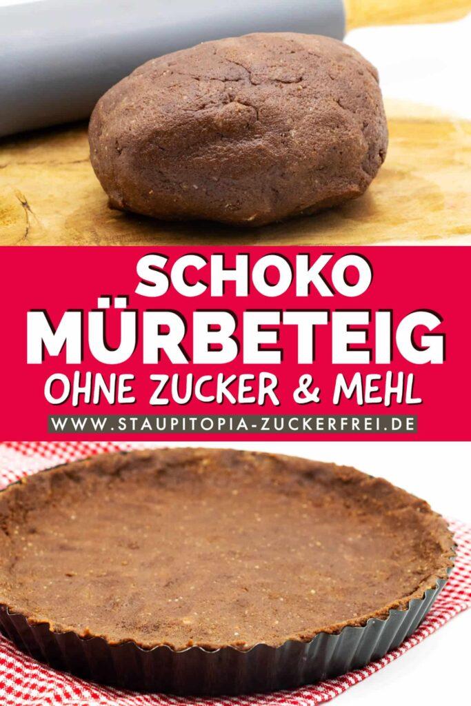 Low Carb Schoko Mürbeteig selber machen