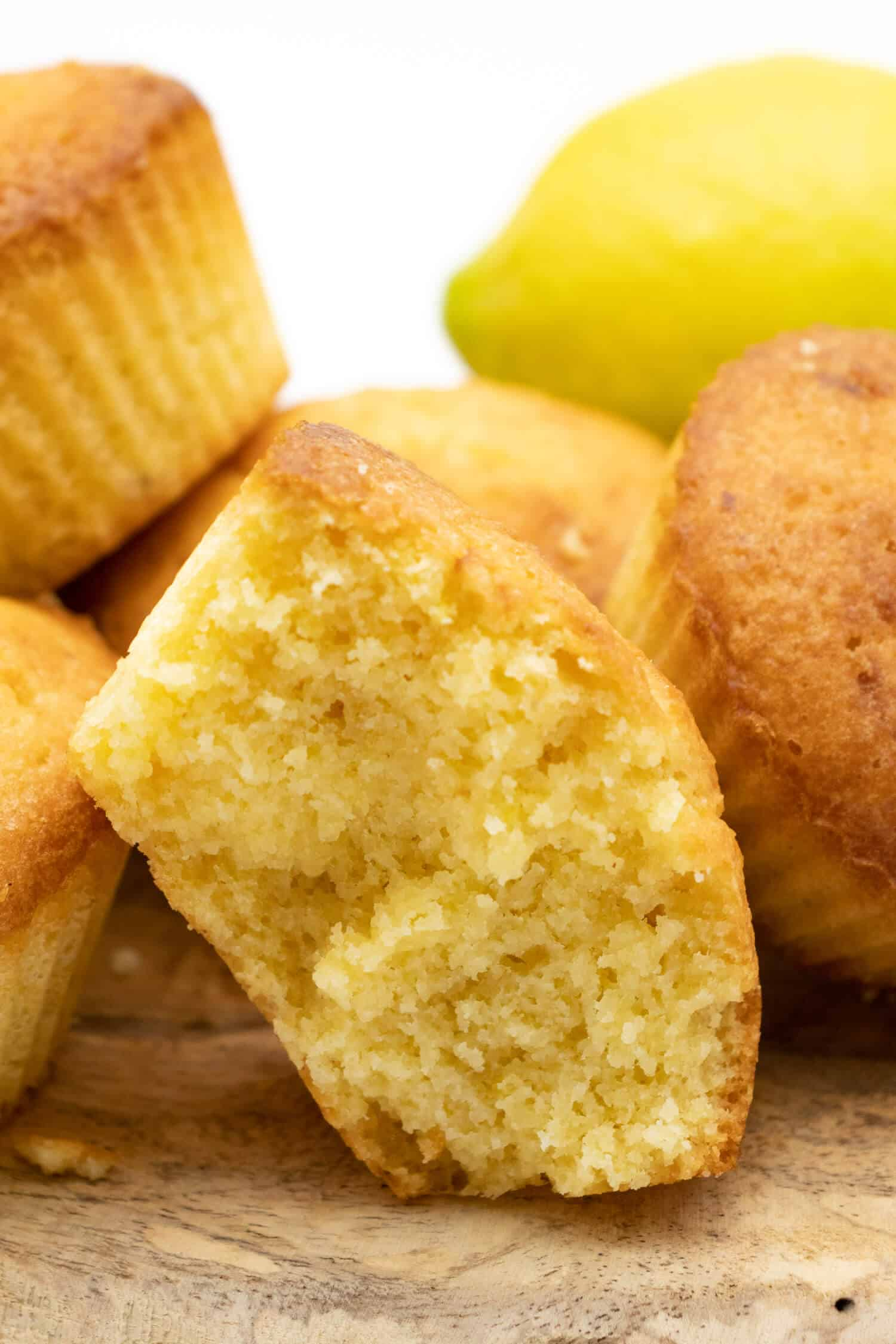 Low Carb Zitronen Muffins Rezept