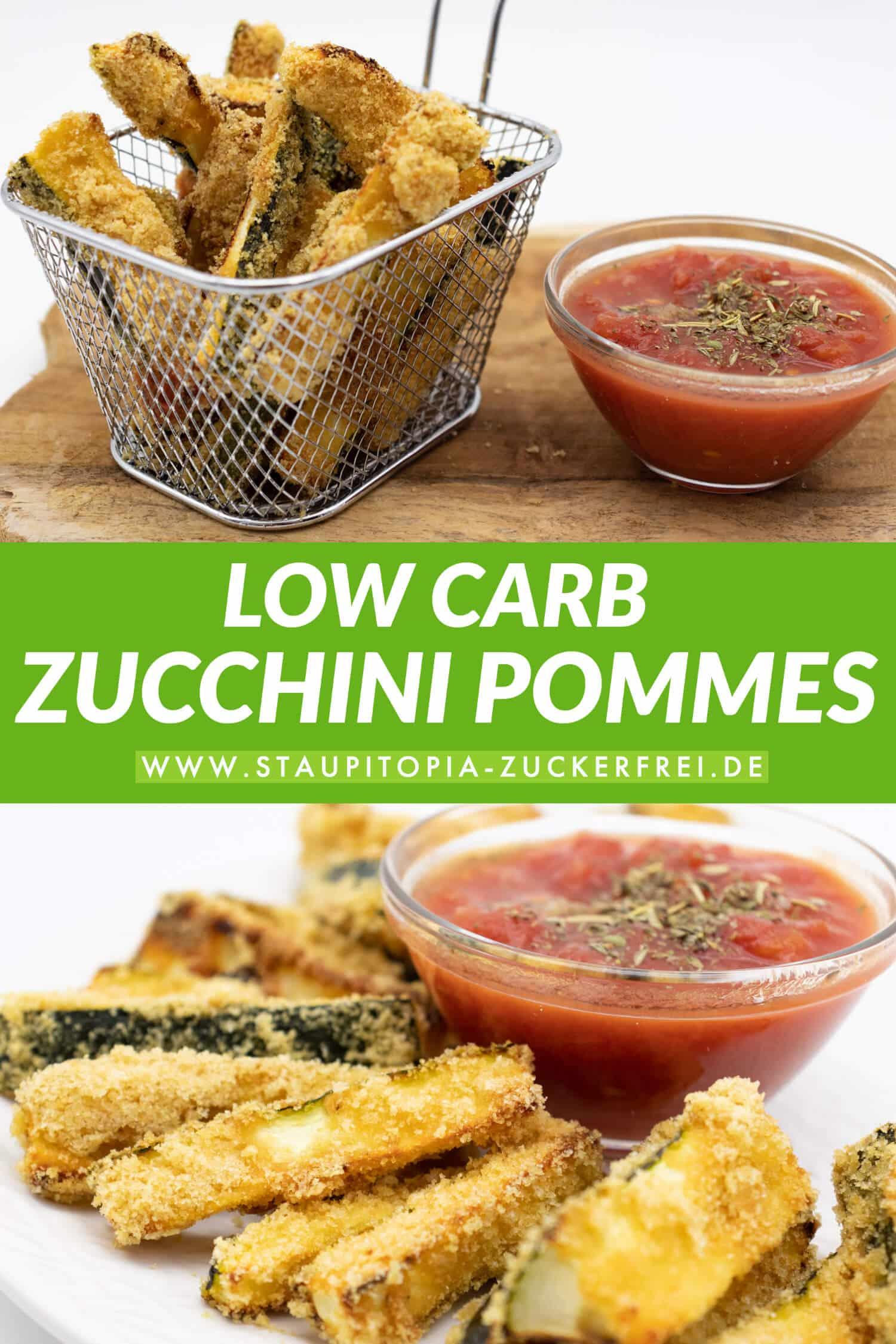 Low Carb Zucchini Pommes Rezept