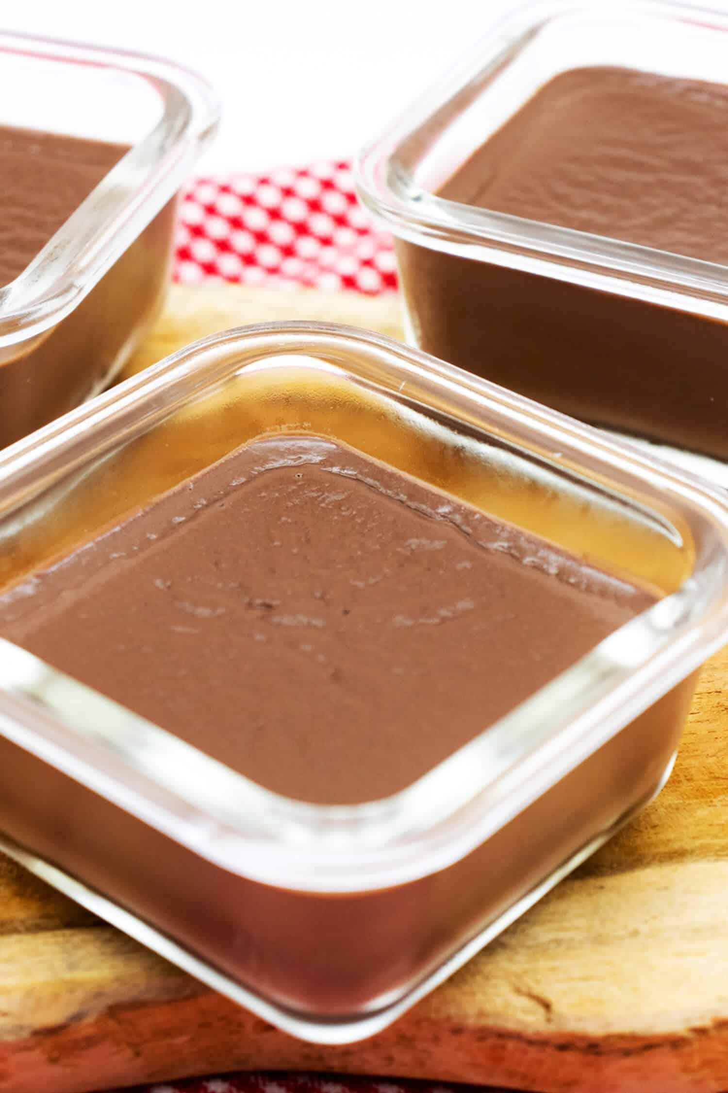 Low Carb Pudding ohne Zucker zubereiten