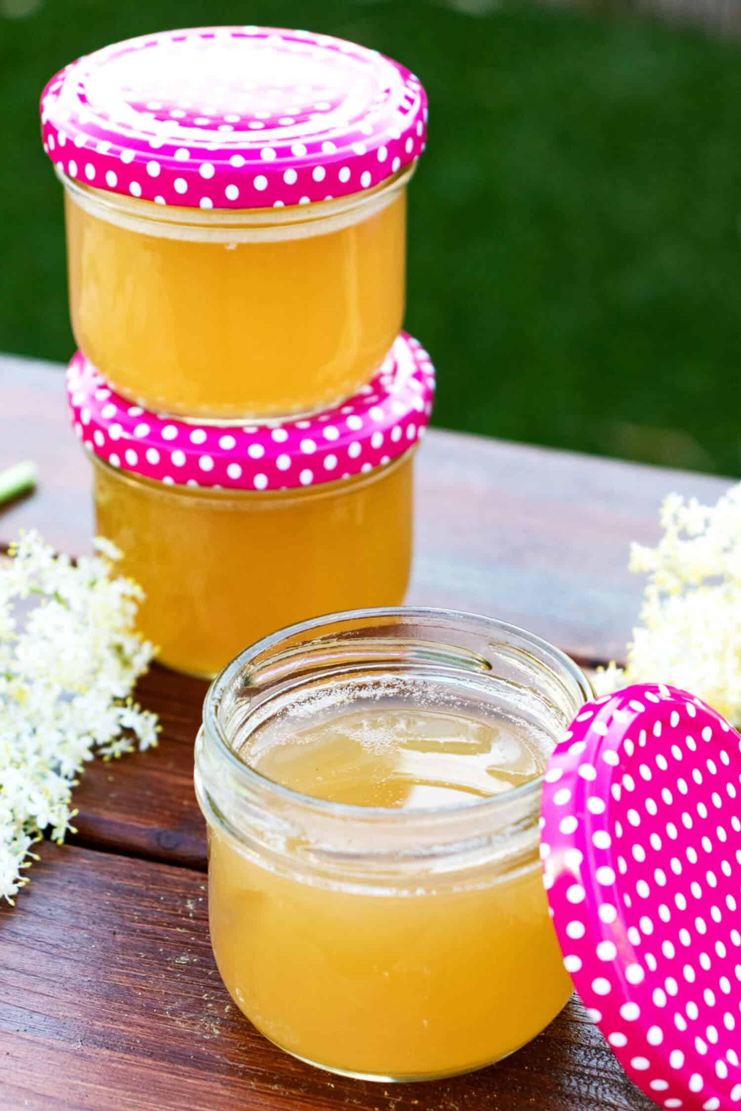 Rezept für Holunderblütengelee gesund