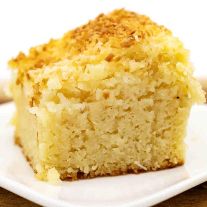 Saftiger Buttermilchkuchen ohne Zucker und Low Carb