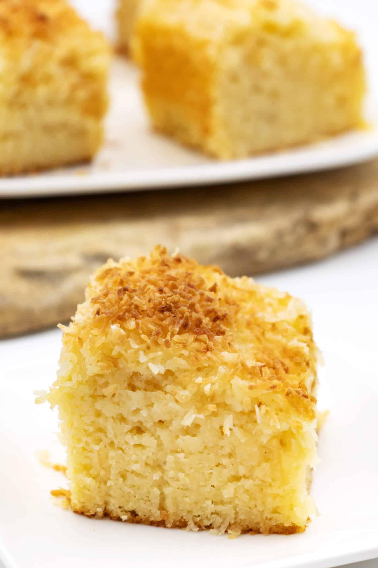 Saftiger Low Carb Buttermilchkuchen