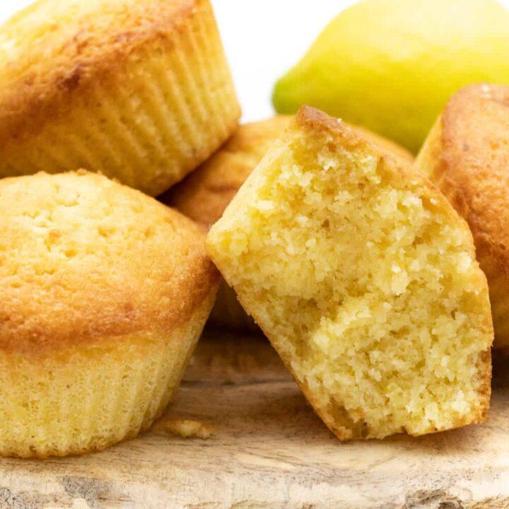Rezept für Zitronen Muffins