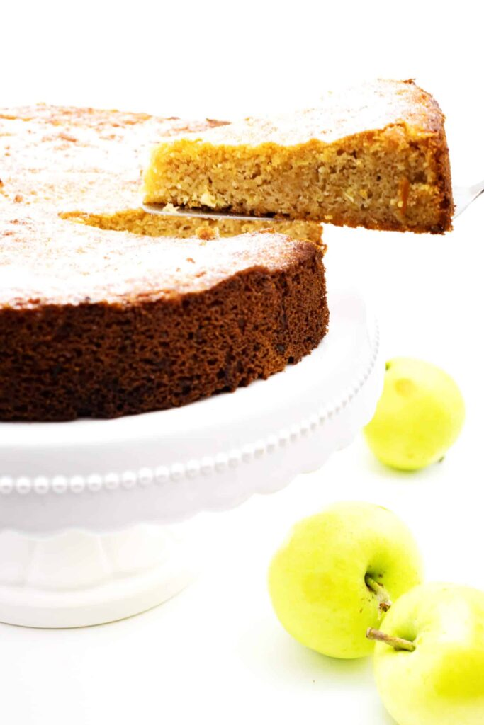 Schneller Apfelkuchen Low Carb ohne Zucker