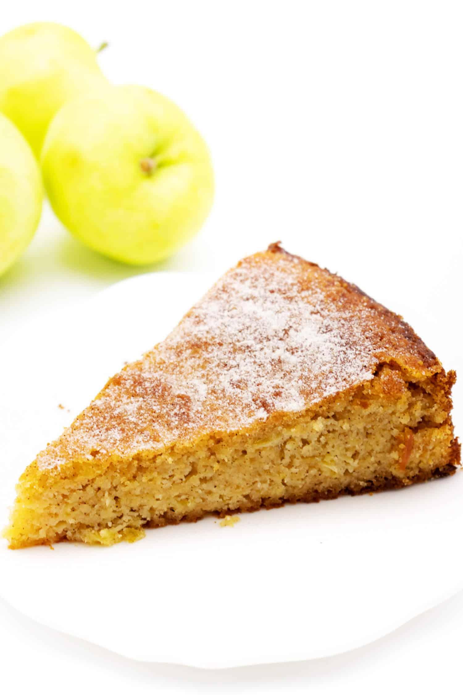 Apfelkuchen ohne Zucker schnell und saftig