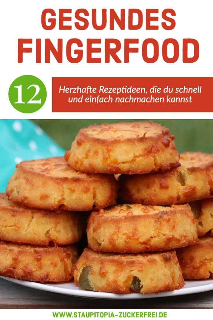 Gesunde Rezepte für Low Carb Fingerfood