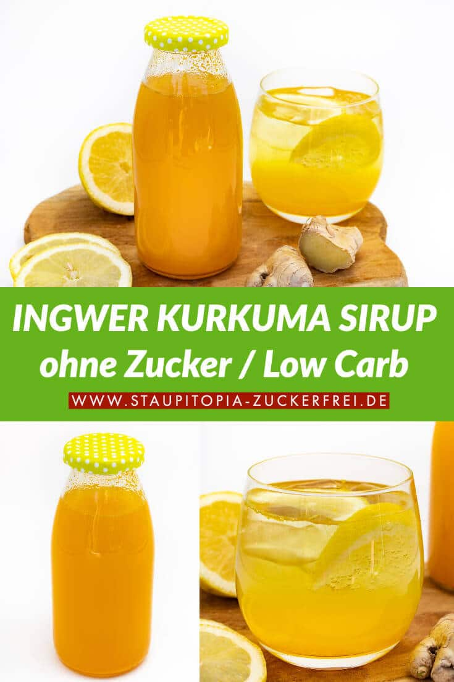 Ingwersirup Rezept ohne Zucker