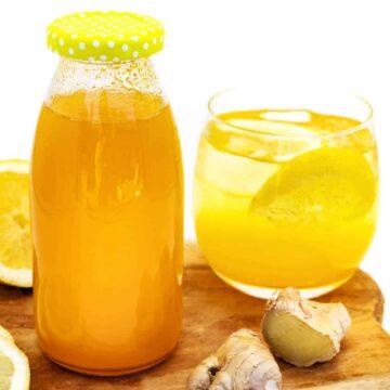 Ingwersirup selber machen ohne Zucker