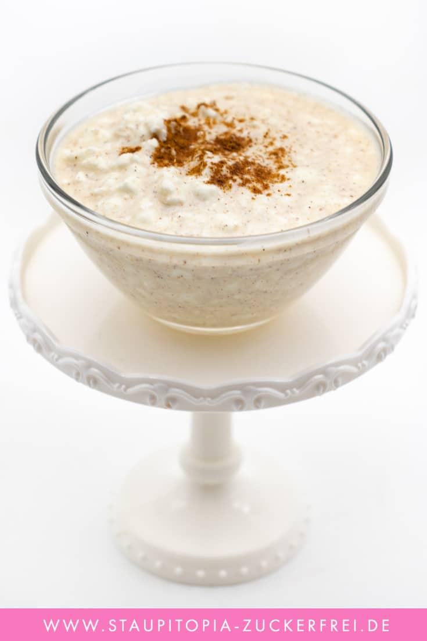 Low Carb Milchreis mit Hüttenkäse Rezept