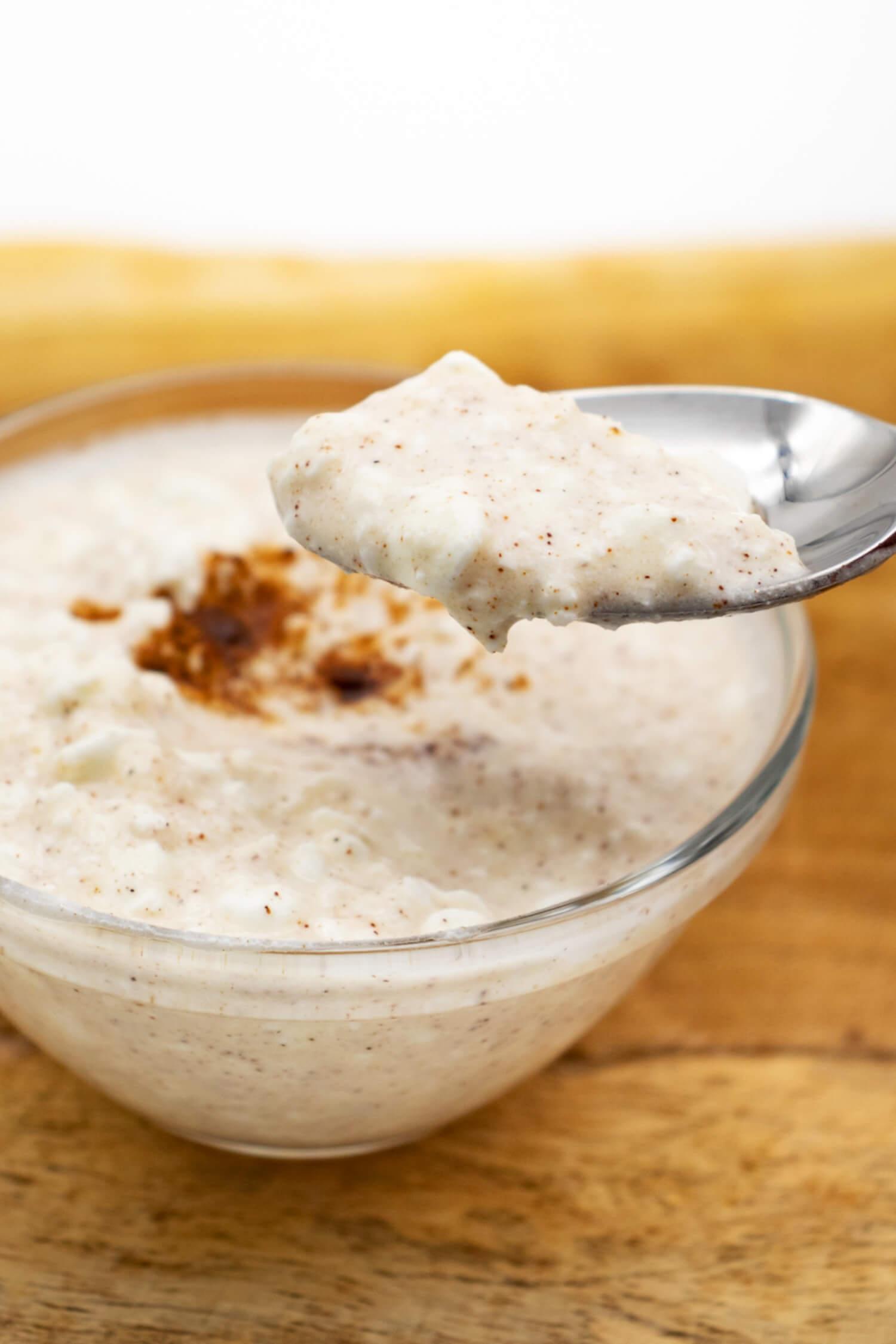 Low Carb Milchreis Rezept