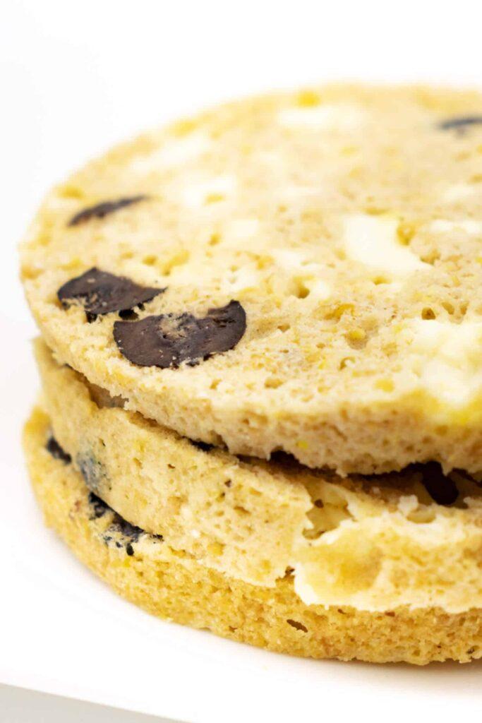 Rezept Low Carb Brot Mikrowelle schnell und einfach