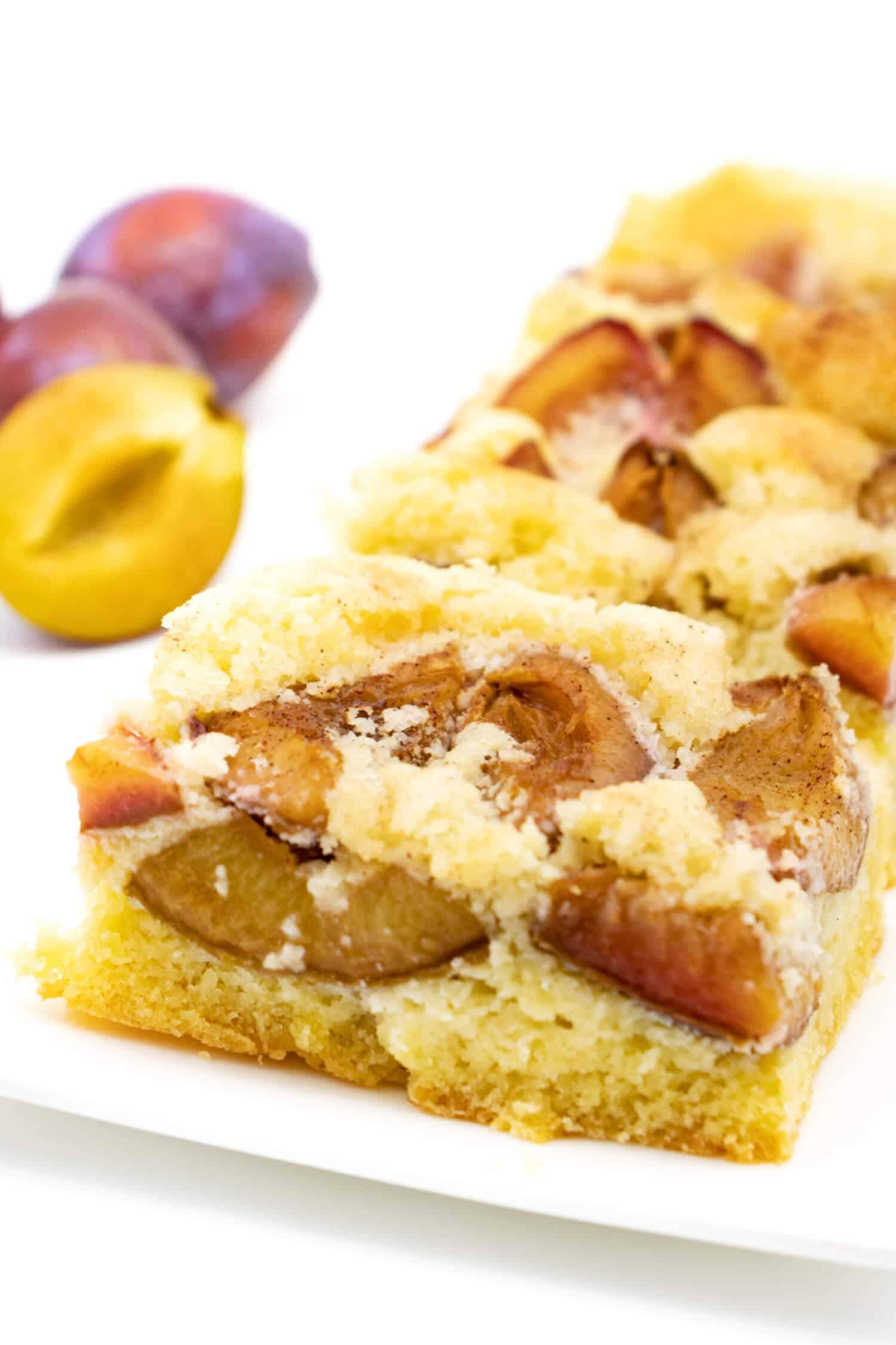 Zwetschgenkuchen ohne Zucker und Mehl