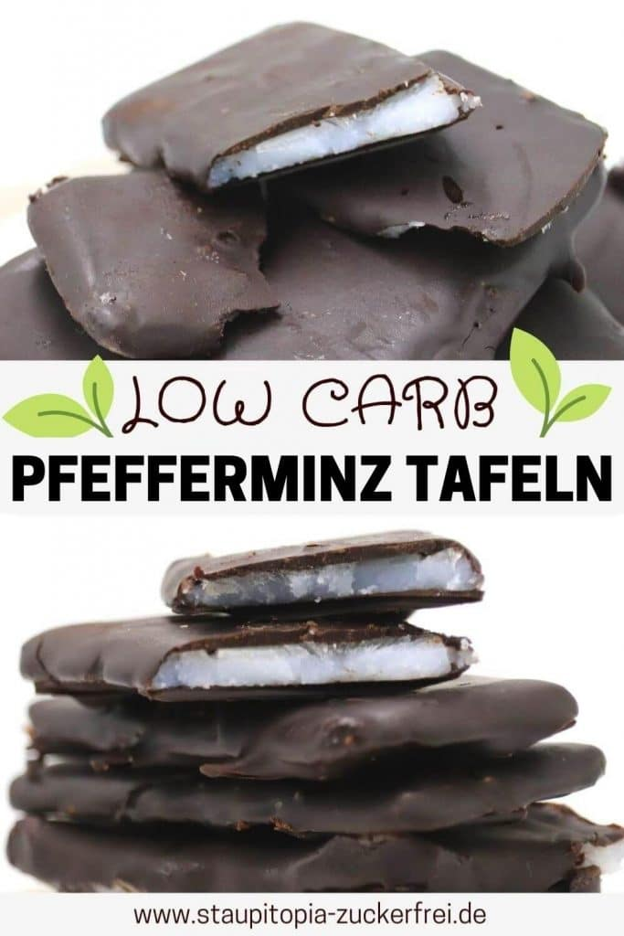 Low Carb After Eight selber machen