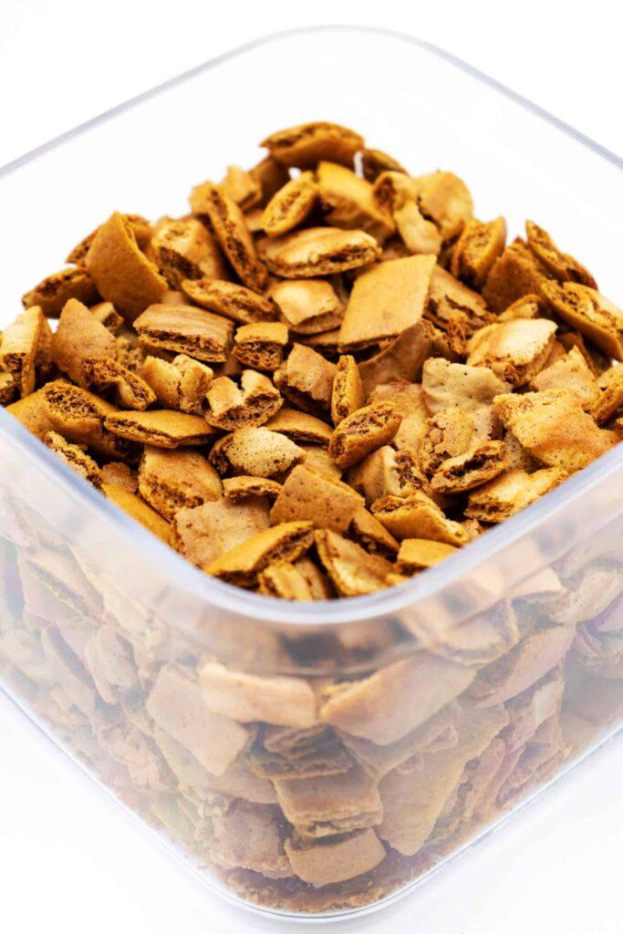 Low Carb Croutons aus dem Ofen