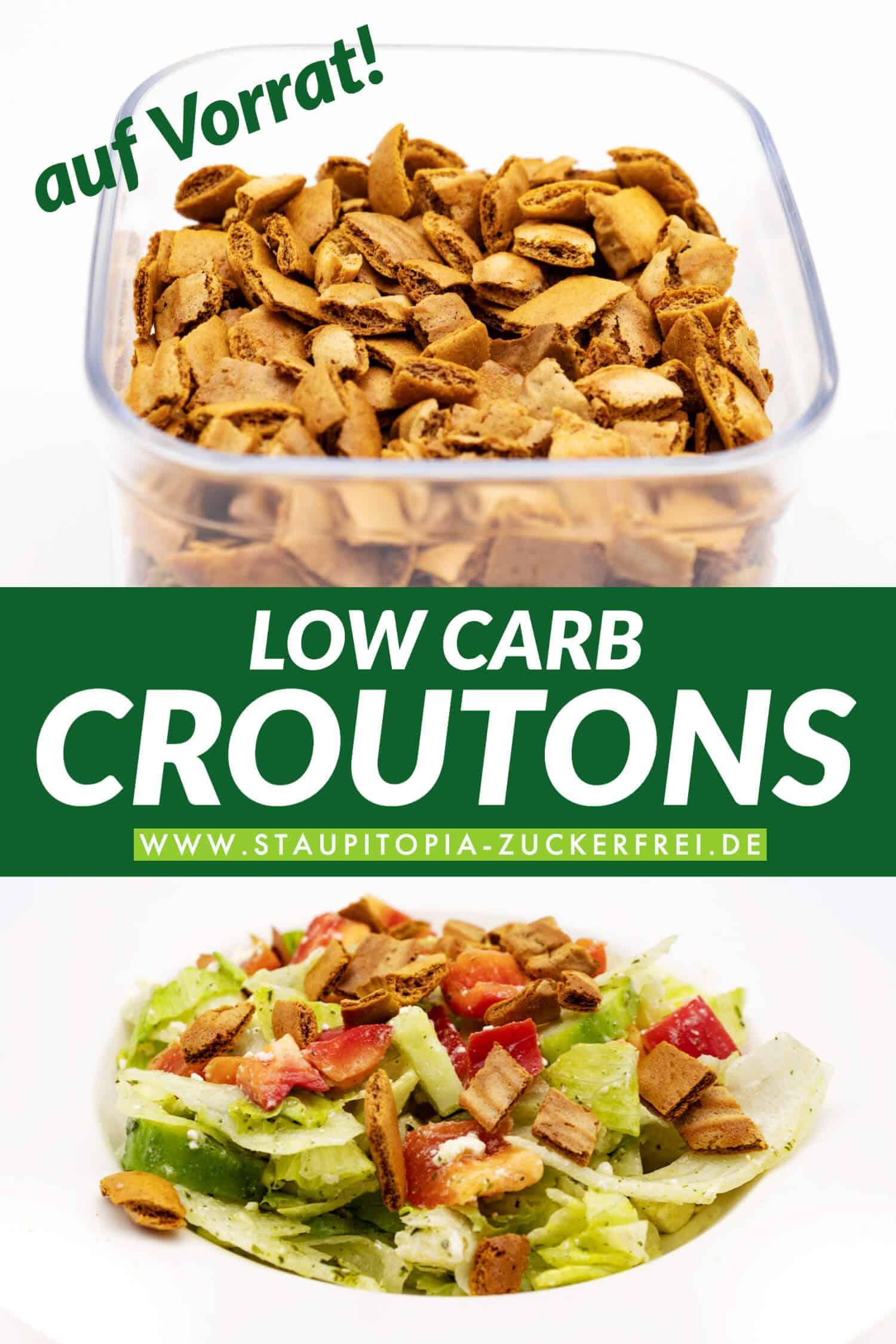 Low Carb Croutons selber machen