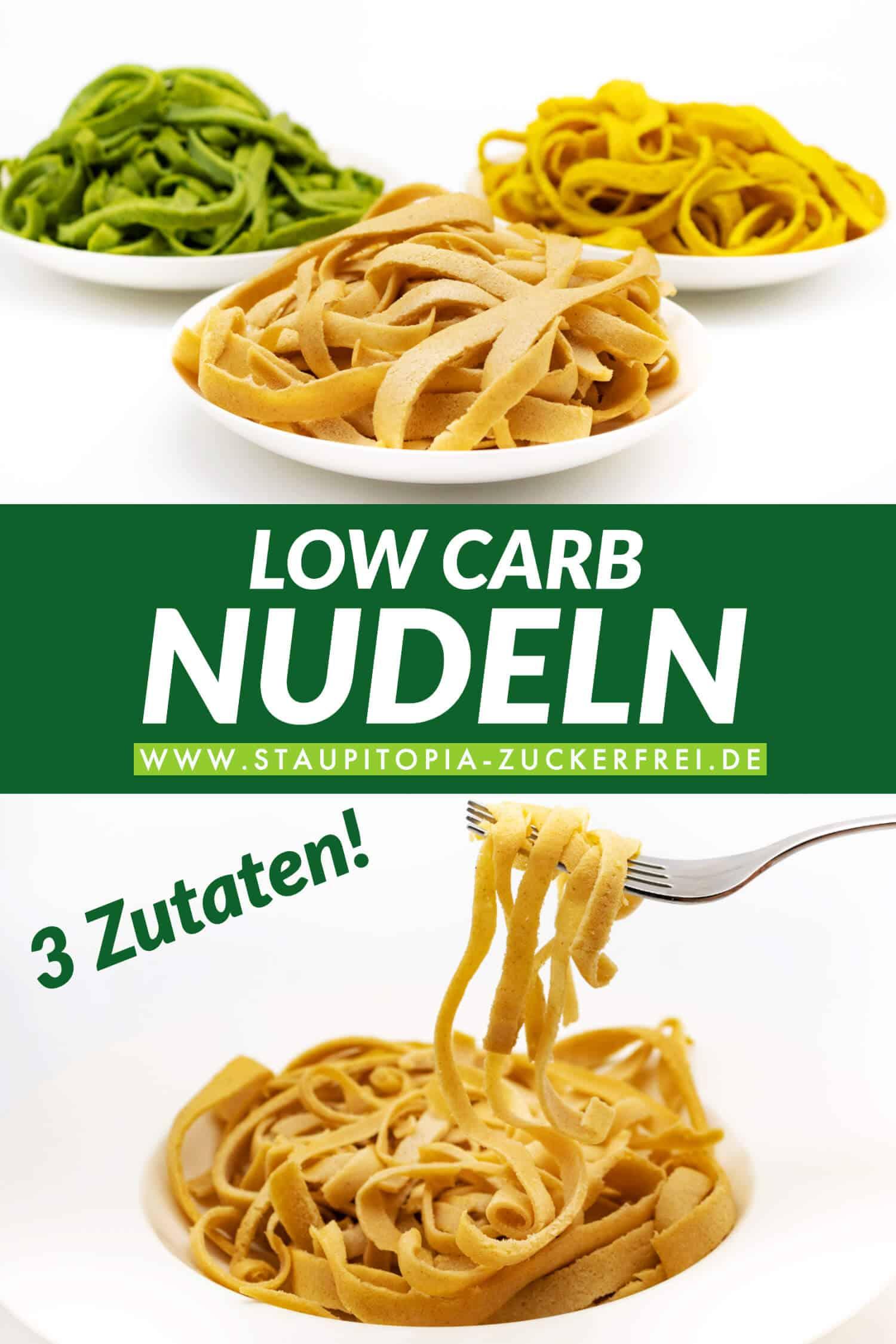 Low Carb Nudeln Rezept