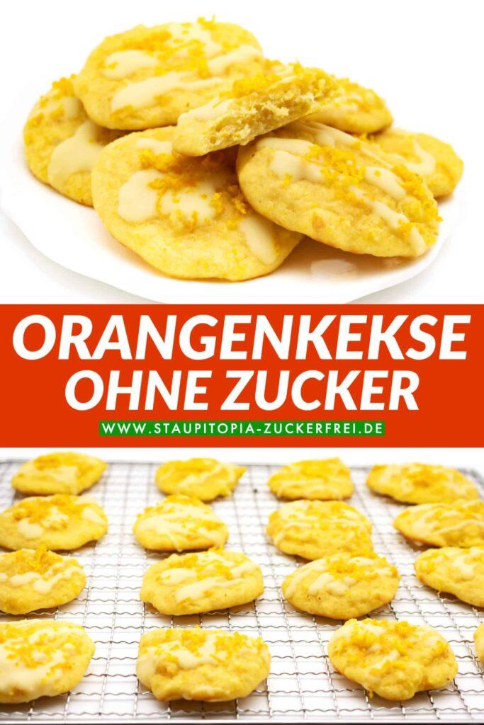 Orangenkekse ohne Zucker Rezept