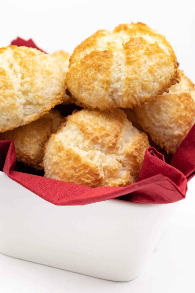 Low Carb Kokosmakronen Rezept