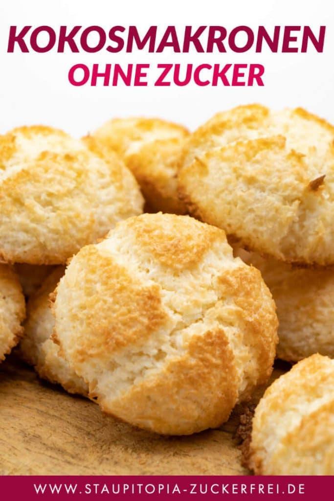 Low Carb Kokosmakronen ohne Zucker Rezept