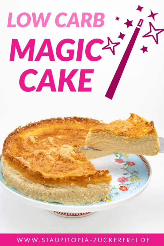 Low Carb Magic Cake ohne Zucker