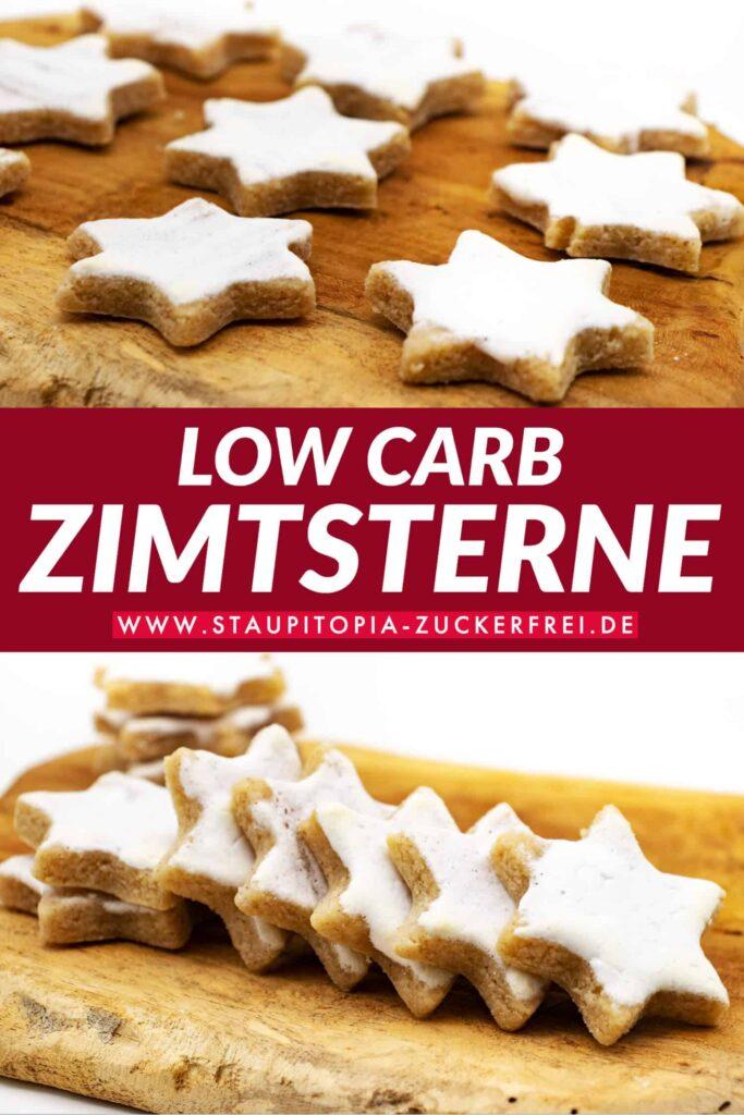 Low Carb Zimtsterne backen ohne Zucker