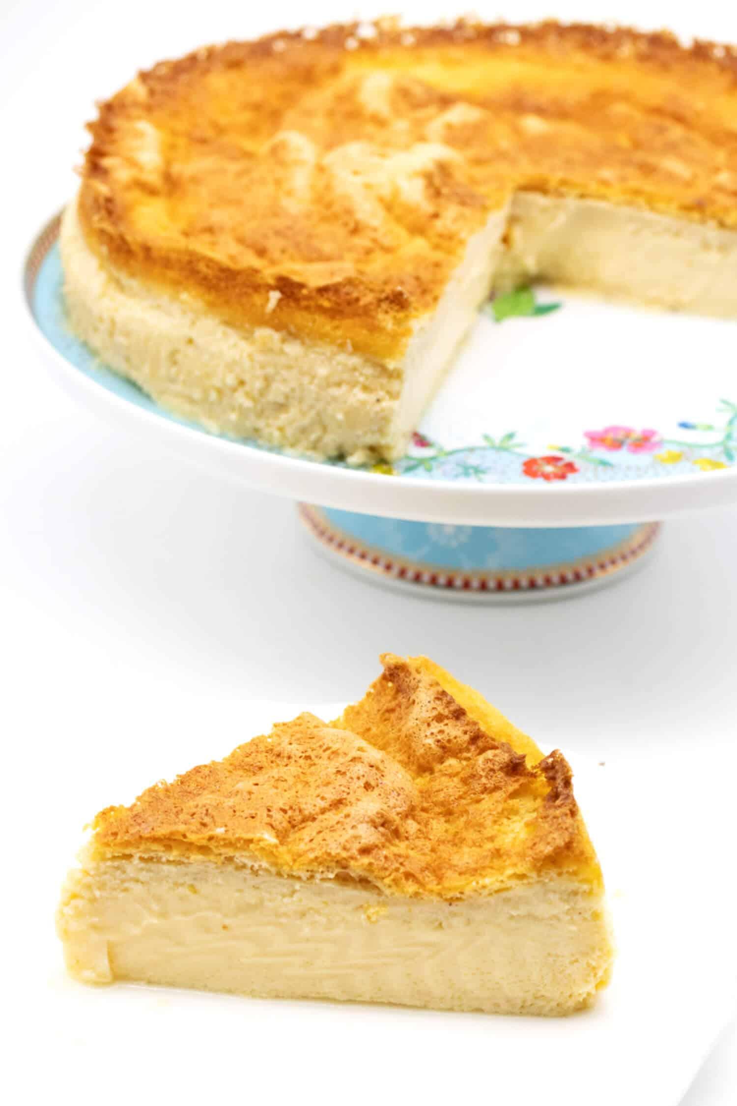 Magic Cake Rezept ohne Zucker