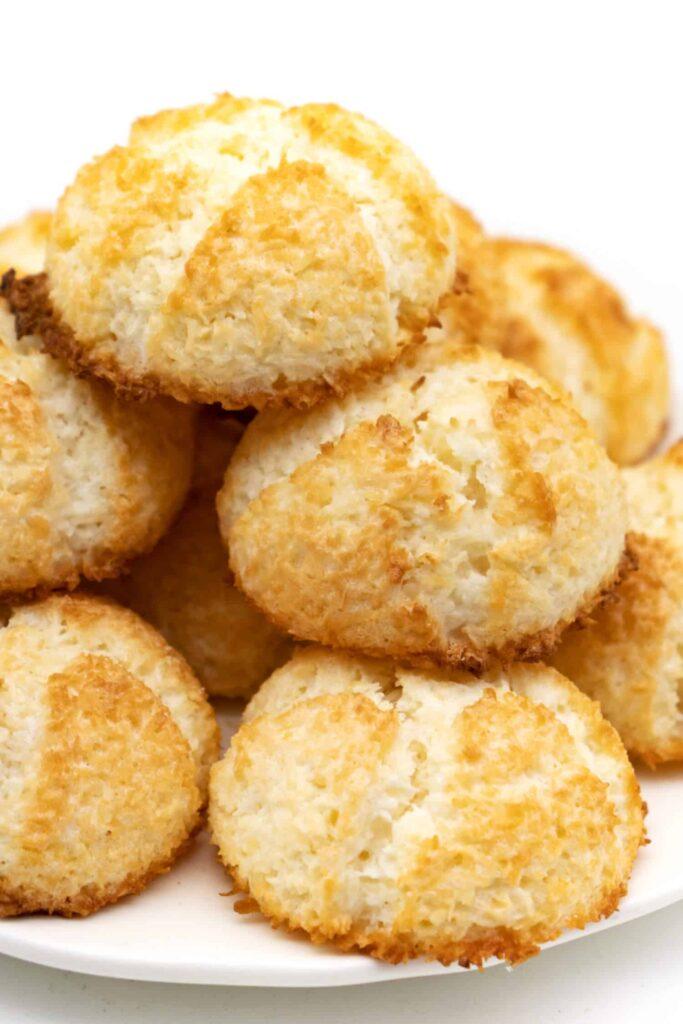 Rezept Kokosmakronen ohne Zucker