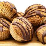 Schnelle Schoko Nuss Muffins ohne Zucker