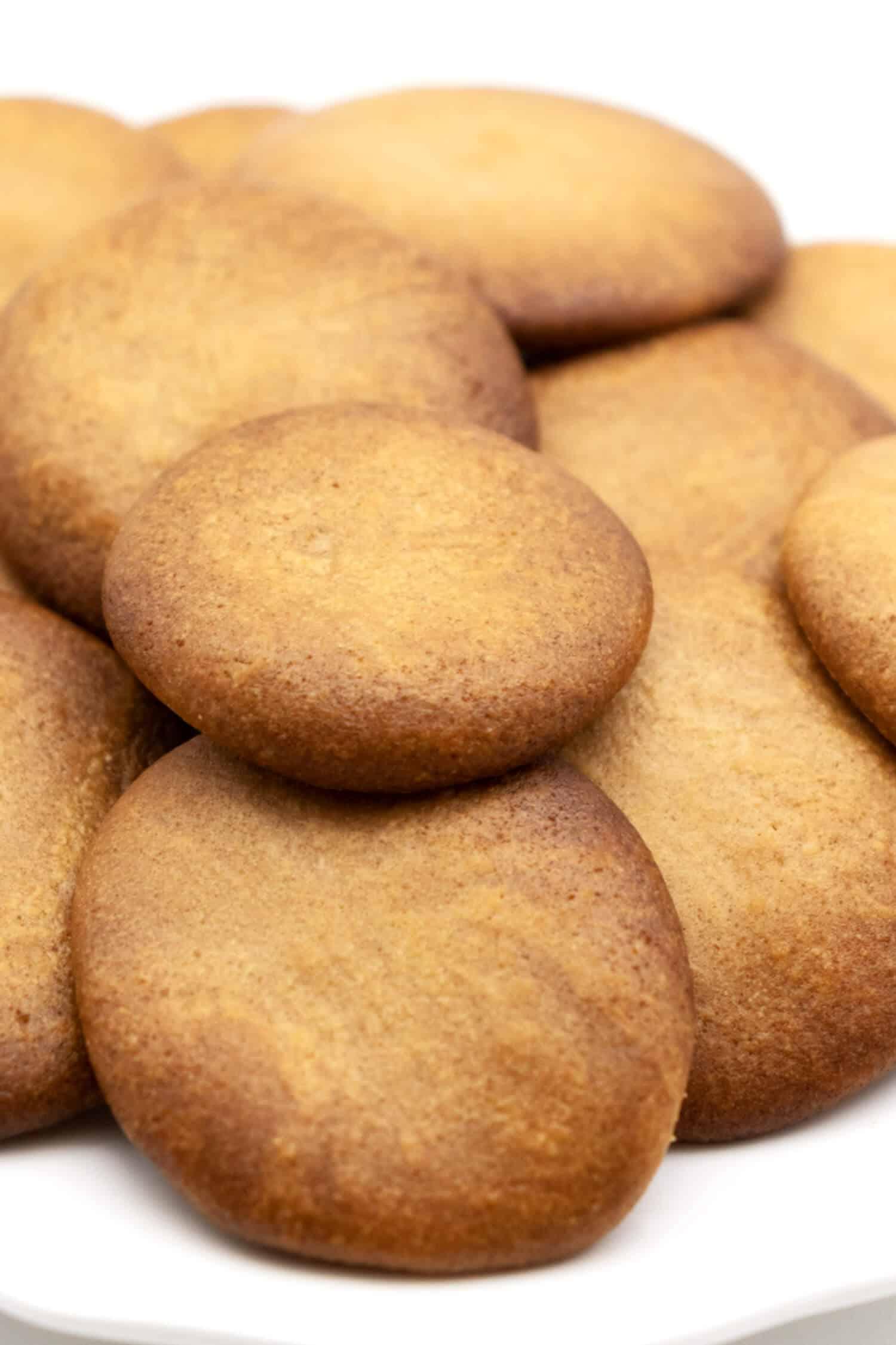 Glutenfreie Plätzchen ohne Ei und ohne Zucker
