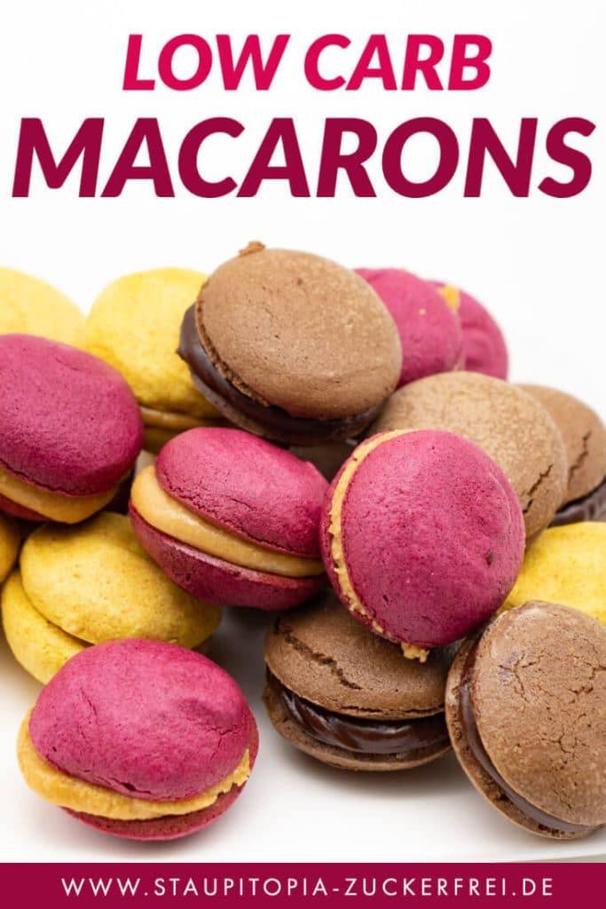 Low Carb Macarons Rezept