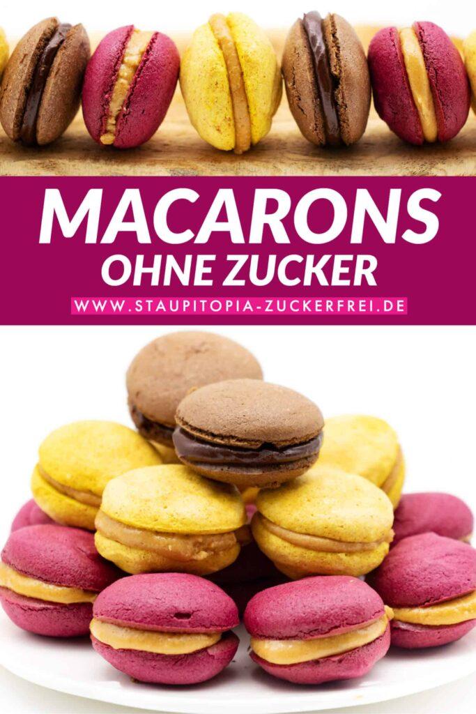 Macarons ohne Zucker selber machen