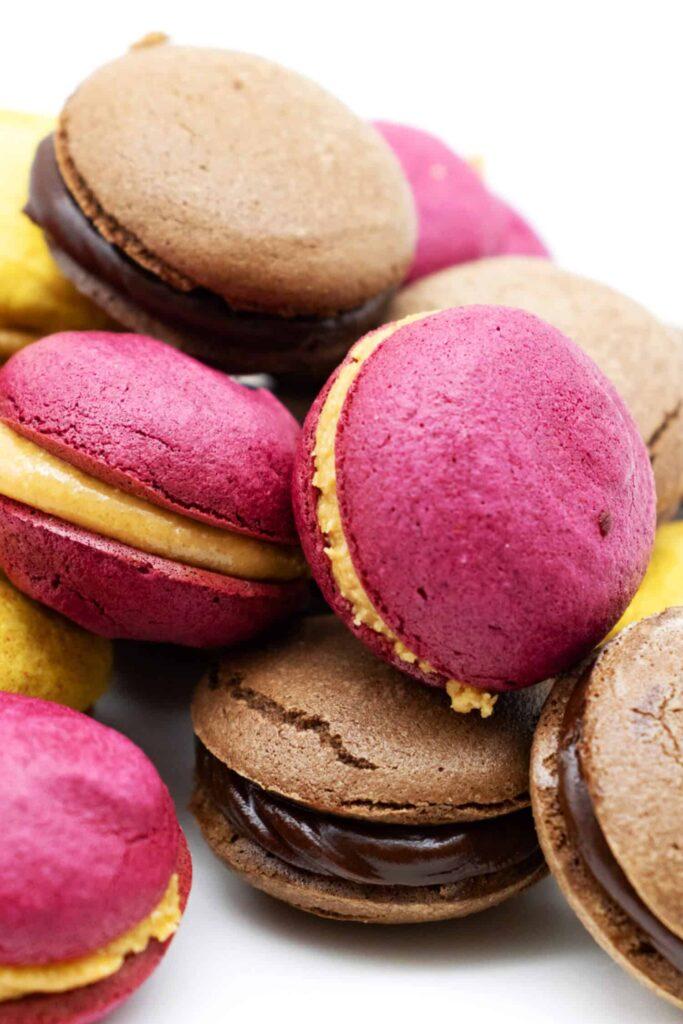 Einfaches Rezept für Macarons ohne Zucker