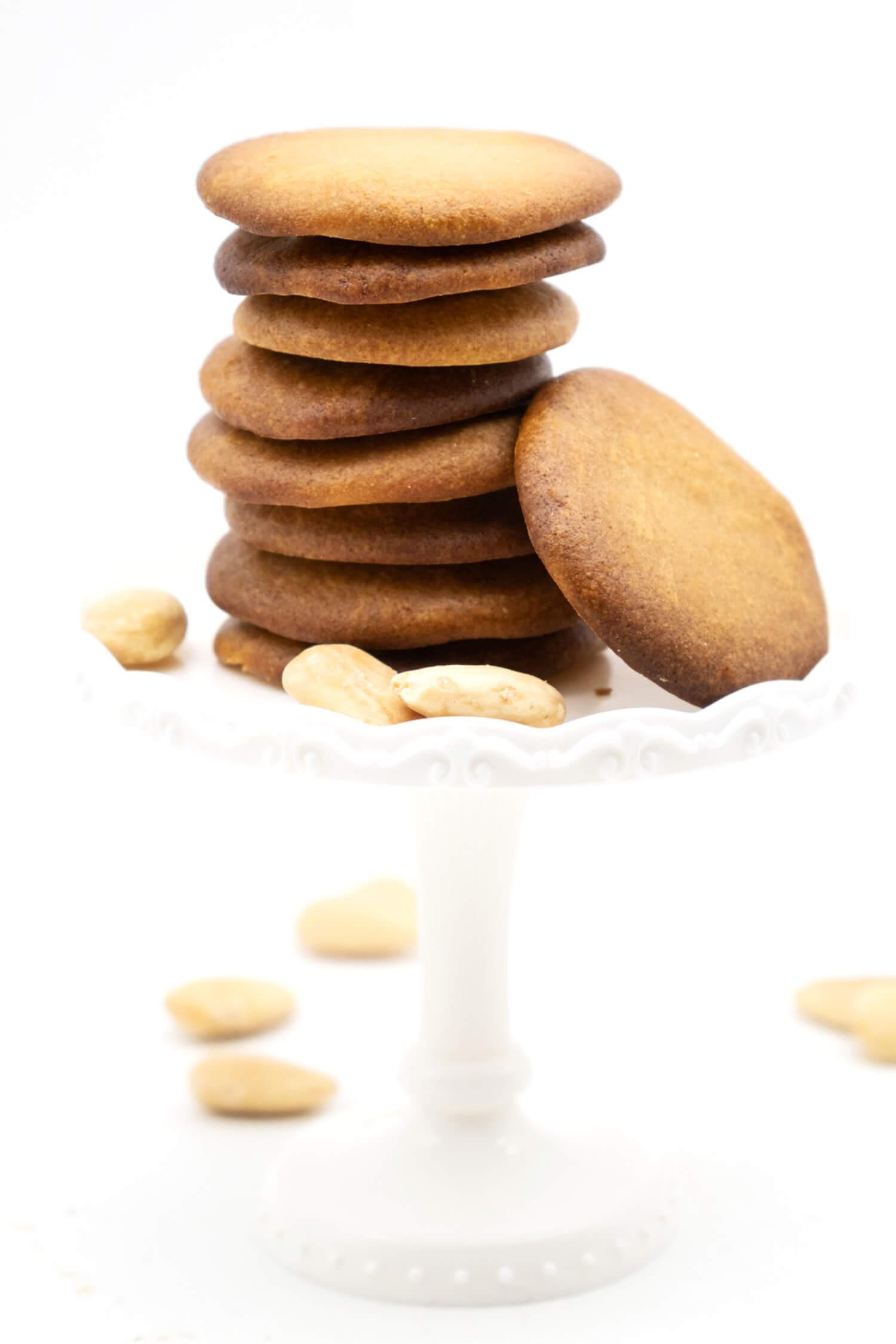 Schnelle Low Carb Plätzchen ohne Zucker, vegan