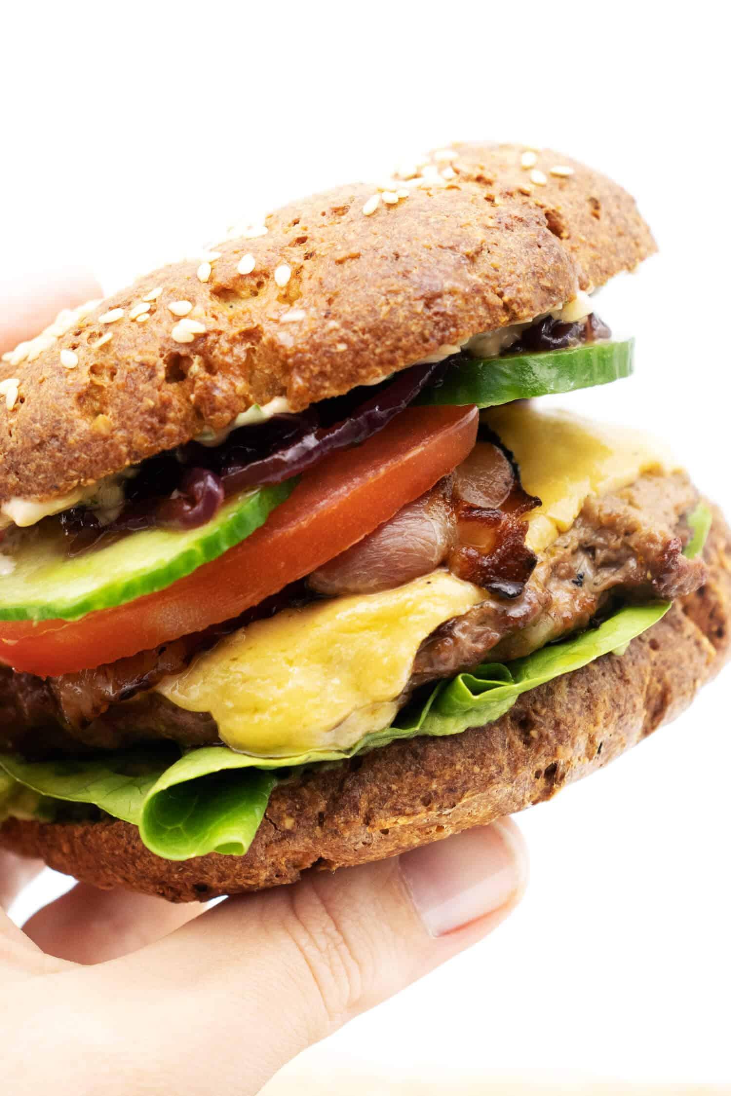 Burger Soße Low Carb Rezept