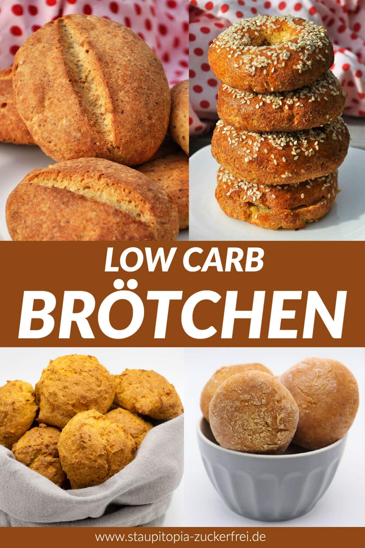 Low Carb Brötchen backen ohne Kohlenhydrate