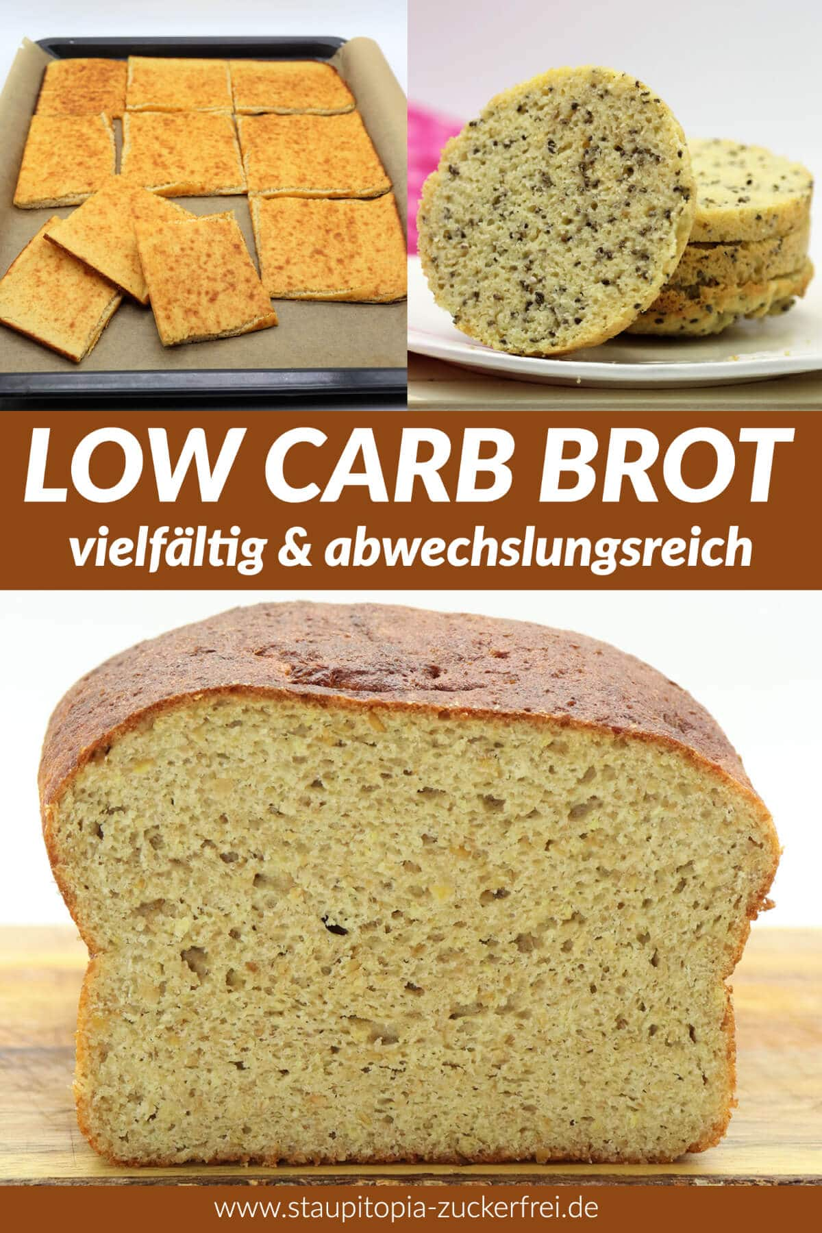 Low Carb Brot backen ohne Kohlenhydrate