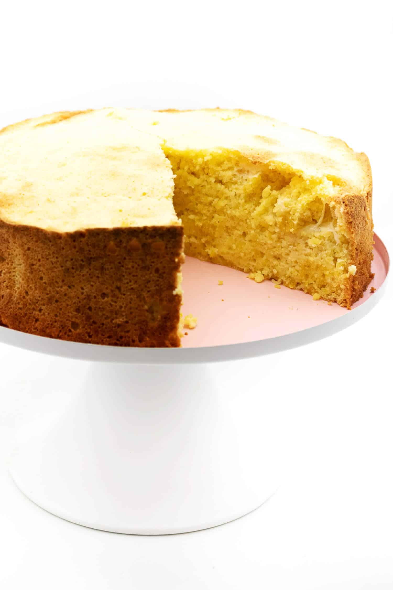 Low Carb Zitronen Wolke Kuchen Rezept